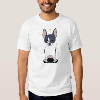 Black White Chihuahua Angel T-shirts