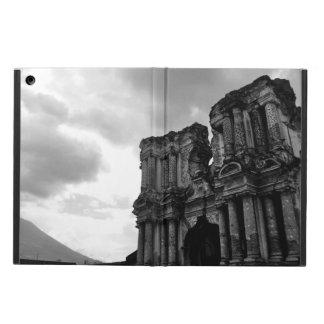 Black & white church in ruins, Antigua Guatemala. iPad Air Case