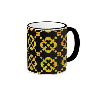 Black & White Citrus Cross Mug