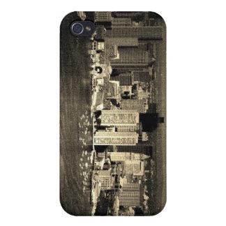 Black & White City iPhone 4/4S Cases