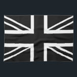 "BLack &amp; White Classic Union Jack British(UK) Flag Hand Towel<br><div class=""desc"">Union Jack 1986 Bring you The Black and White Classic Union Jack British(UK) Flag We know you love the UK Flag,  and we know you think Simple is the best! So we make a Classic British Flag with a Black and White Color! COOL! Want more DIFFERENT DESIGN?</div>"