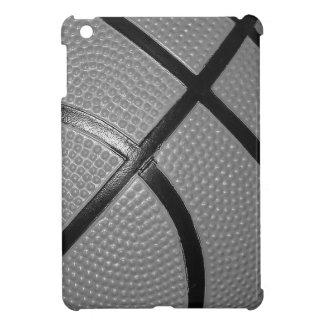 Black & White Close-Up Basketball Case For The iPad Mini