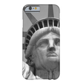 Black & White Close-up Statue of Liberty Barely There iPhone 6 Case