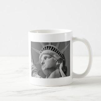 Black & White Close-up Statue of Liberty Mug