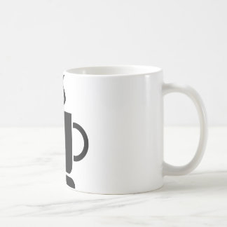 Black White Coffee Lover Personalized Gift Coffee Mug