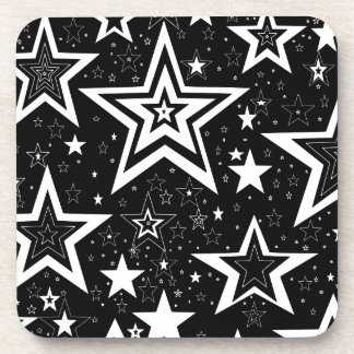 BLACK & WHITE COLLECTION DRINK COASTER
