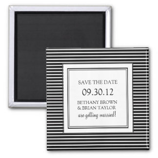 Black & White Collection Save the Date Magnet