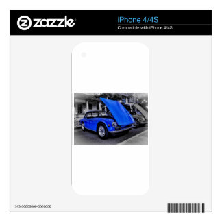 """Black White"" ""Color Splash"" ""Clasic Car"" Sprite Skins For The iPhone 4"