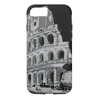 Black & White Colosseum iPhone 7 Case