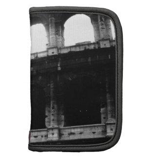 Black White Colosseum Roman Empire Organizer