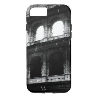 Black White Colosseum Tough iPhone 7 Case