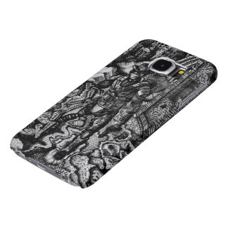 Black & white cowboy Samsung s6 barely there case