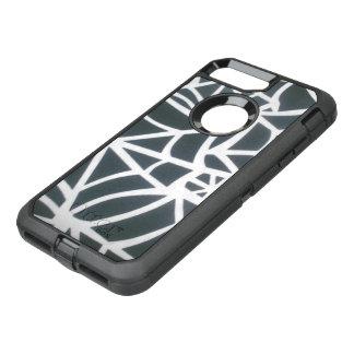 Black white Custom fashion Apple iPhone7 design OtterBox Defender iPhone 7 Plus Case