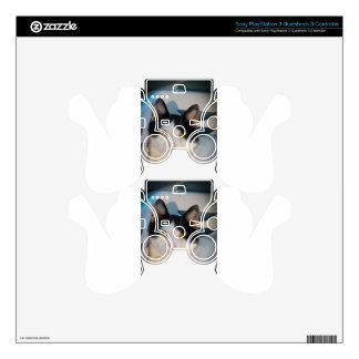 Black & White Cutie Skins For PS3 Controllers
