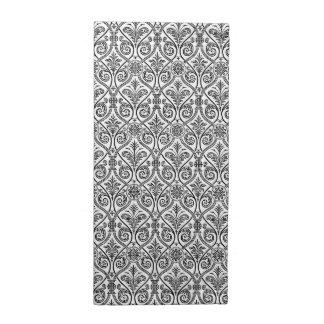 Black & White Damask Pattern Cloth Napkins