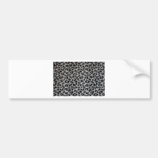 Black & White Design Bumper Sticker
