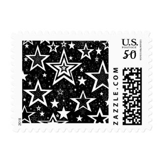 Black & White Designer Collection Postage