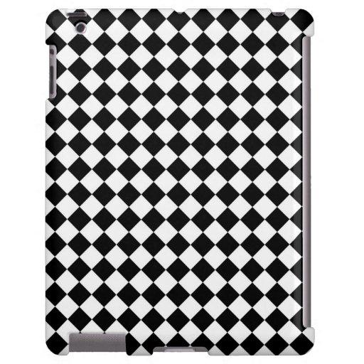 Black White Diamond Checkers