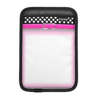 Black / White Dot iPad Mini Cover