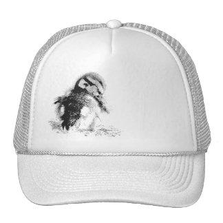 Black & White Duckling Hat