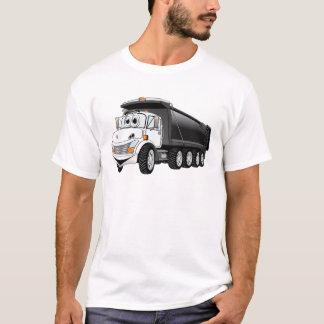 Black White Dump Truck 10w Cartoon T-Shirt