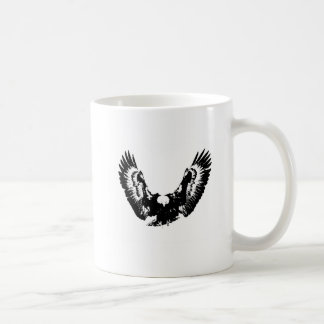 Black & White Eagle Coffee Mug