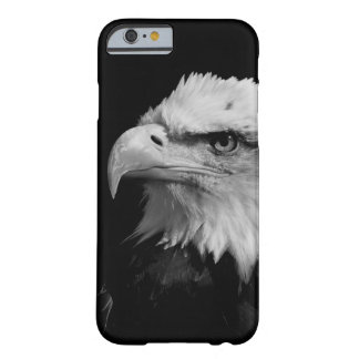 Black & White Eagle Eye Artwork Barely There iPhone 6 Case
