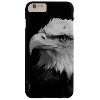Black & White Eagle Eye Artwork Barely There iPhone 6 Plus Case