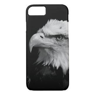 Black & White Eagle Eye Artwork iPhone 7 Case