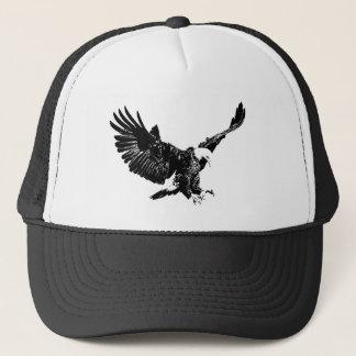 Black & White Eagle Hats