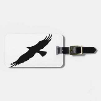 Black & White Eagle Luggage Tag