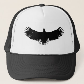 Black & White Eagle Silhouette Hats