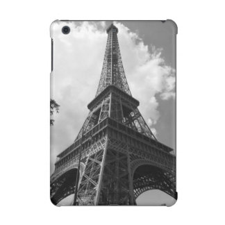 Black & White Eiffel Tower in Paris iPad Mini Retina Cover