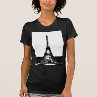 Black & White Eiffel Tower T-Shirt