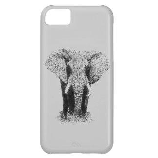 Black & White Elephant iPhone 5 Case