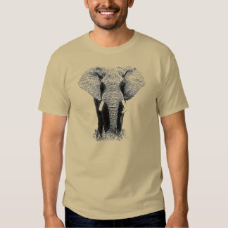 Black & White Elephant T-Shirt