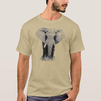 Black & White Elephant T-Shirt