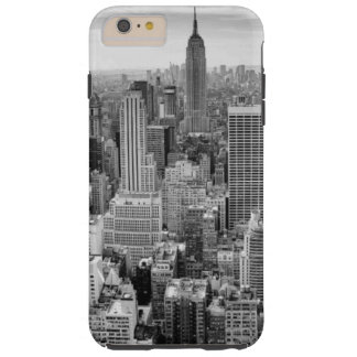 Black White Empire State Building Image NYC Tough iPhone 6 Plus Case