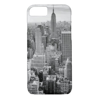 Black White Empire State Building iPhone 8/7 Case