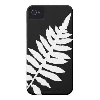 Black & White Fern Blackberry Bold Case