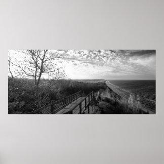Black & White Fine Art Print Arcadia Overlook