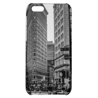 Black & White Flatiron Building Photo in NYC Cover For iPhone 5C