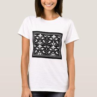 Black & White Fleure De Lis T-Shirt
