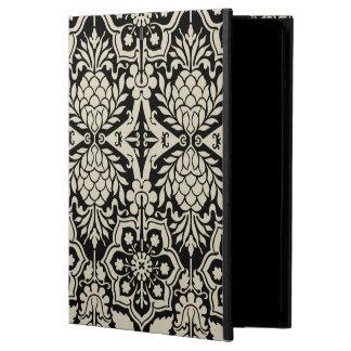 Black & White Floral Damask Pattern  iPad Air Case
