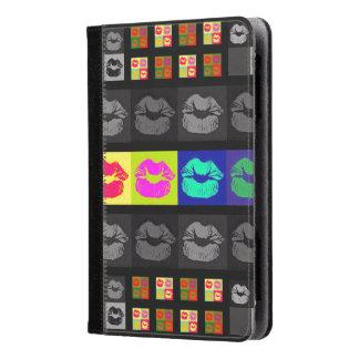 Black&White Florescent Lips Kindle Case