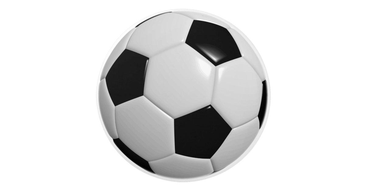 Black & White for Soccer Ball / Football Players Ceramic ...