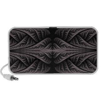 Black/White Fractal Design iPhone Speaker