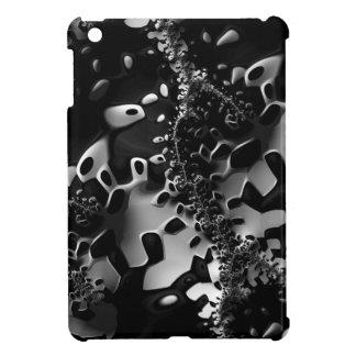 Black&White Fractal iPad Mini Case
