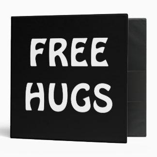 Black/White Free Hugs Binder