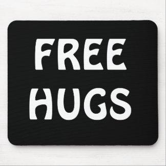 Black/White Free Hugs Mousepad